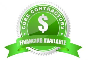 Financing Programs - Core Contractors