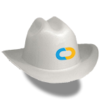 Core Contractor's sheriff hardhat
